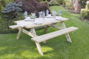 Rectangular Picnic Table - Large (instore)