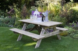 Rectangular Picnic Table - Small (instore)